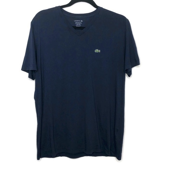 Lacoste Other - Men's Lacoste regular fit navy T-shirt, sz 5 or L